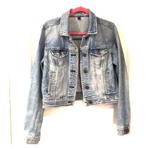 American Eagle Jean jacket large